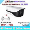 Оригинал Dahua звездной камеры 4MP DH-IPC-HFW4431K-I4 Сети IP IR Bullet H265 H264 слот IPC-HFW4431K-I4
