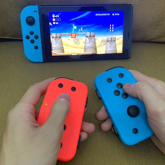 Wireless Bluetooth 8M TURBO Left & Right Joy-con Game Controller Gamepad For Nintend Switch NS Joycon Game Playing Signal stable
