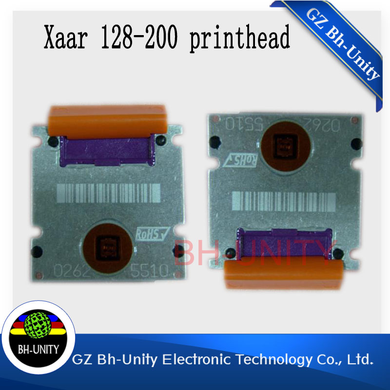 original new  xaar 128  print head for wit color  skywalker inkjet solvent printer machine brand new zhongye 12 heads printer xaar 128 head board carriage board eco solvent printer spare parts