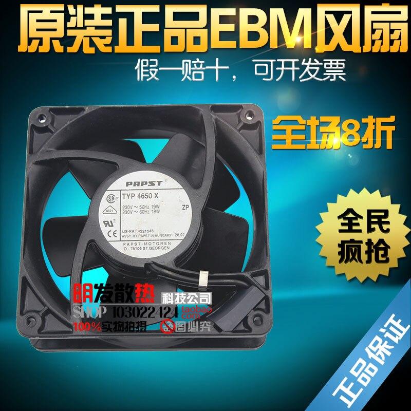 ФОТО 230V 4650N-465 original authentic 120*120*38mm high temperature fan
