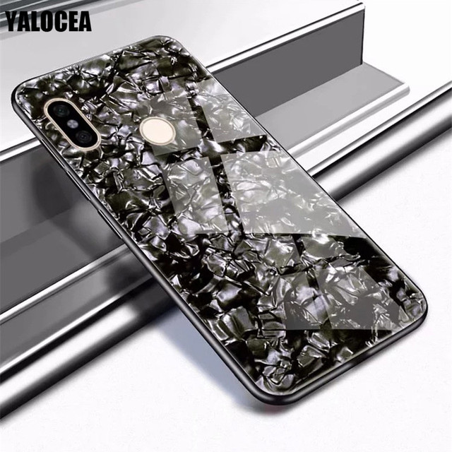 outlet store dd48b 41ea4 US $5.36 |Tempered Glass Phone Cases For Xiaomi Redmi Note 5 Pro Case  Glitter Shell 360 Full Protection Cover For Xiaomi Redmi Note 5 Case-in  Fitted ...