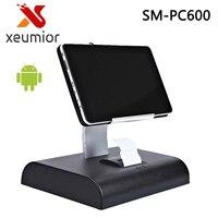 10 Inch Touchscreen Android Tablet PC Kassa Pos-systeem met Software Tablet POS Ingebouwde printer Ondersteuning WIFI/Bluetooth