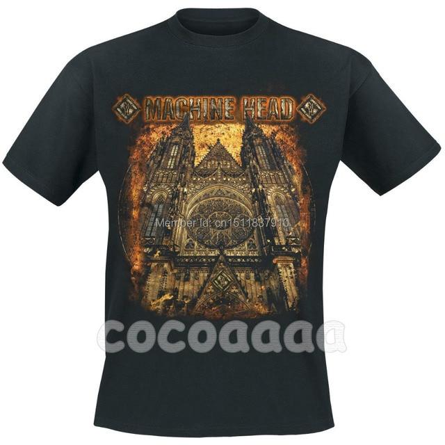 Brand Machine Rock Heavy Mma Notre Band Metal Paris Fitness Dark 3d Hardrock Shirt 100 Head Men Dame cotton De New Church qrr5w8xt