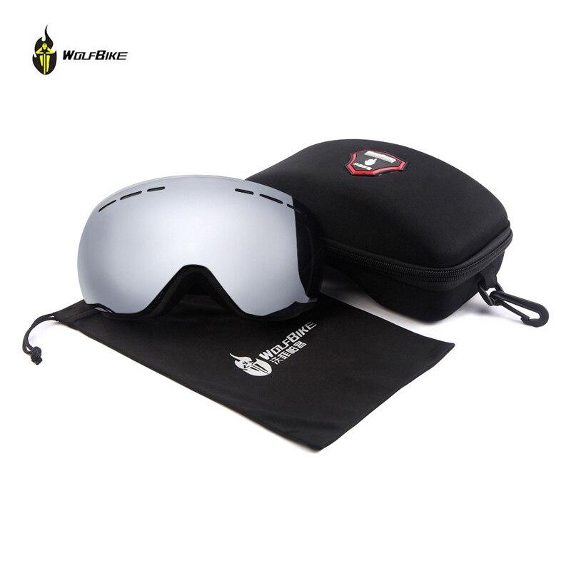 웃 유Wolfbike Ciclismo Gafas al aire libre Gafas de esquí deportes ...