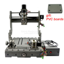 Деревянный токарный станок DIY 3 оси 4 оси 3040 мини контроллер ЧПУ PCB гравировальный сверлильный и фрезерный станок