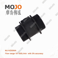 Free Shipping MJ HZ50WA Water Level Sensor Hall Flow Sensor Outside Treads Water Flow Switch Hall