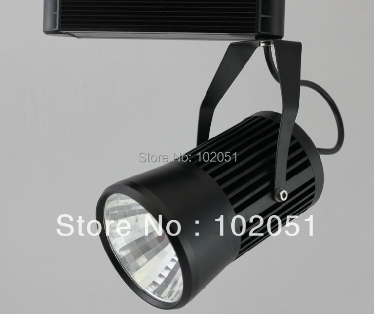 2017 new 220V 20W 30W COB led track light 20W clothing store track spot lighting high bright led track light50wled exhibition hall cob track light to shoot the light clothing store to shoot the light window
