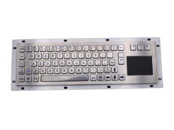 IP65 Stainless Steel USB Kiosk Keyboard With Touchpad Metal Industrial Keypad For Ticket Vending Machine Mini Metallic Keyboard - DISCOUNT ITEM  0% OFF All Category