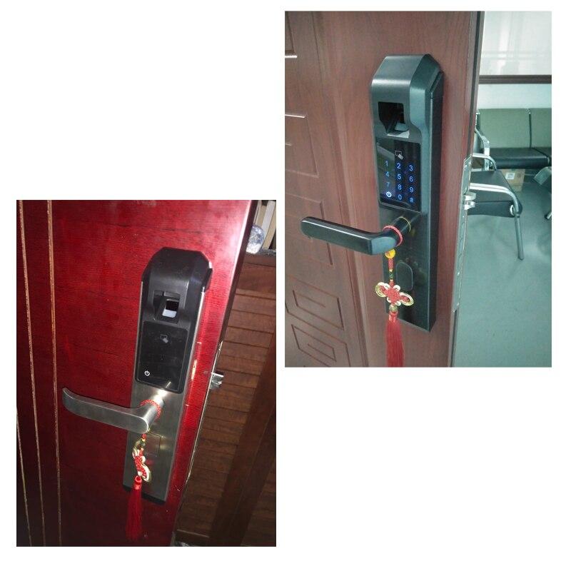 HTB1j rQE41YBuNjy1zcq6zNcXXaQ RAYKUBE Biometric Fingerprint Door Lock Intelligent Electronic Lock Fingerprint Verification With Password & RFID Unlock R-FZ3