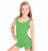 Speerise Girls Tank Shorty Unitard Boys Lycra Spandex Nylon Unitard Biketard Dance Ballet Leotard Costumes for Children