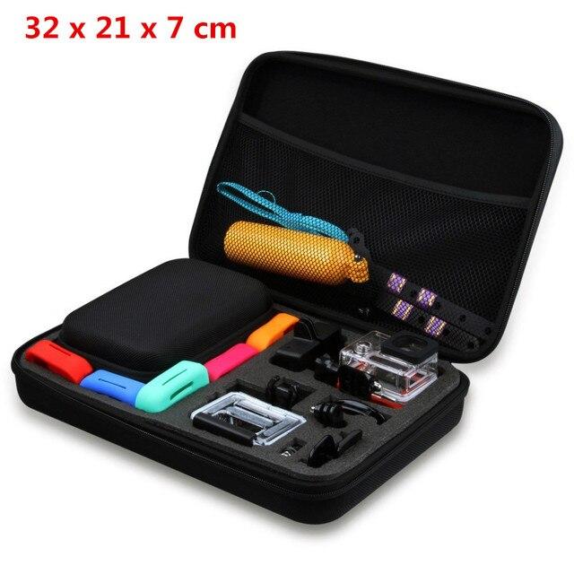 Lightdow Large Gopro Case Water Resistant Protective EVA Bag Storage Box For Go Pro Hero 4 3 3+ 2 1 SJCAM SJ4000 SJ5000 SJ6000