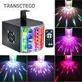 Светодиодная лампа для дискотеки 18 Вт DMX 512 DJ RGB светодиодные лампы для вечеринок звуковая активированная диско-лампа с дистанционным управл...