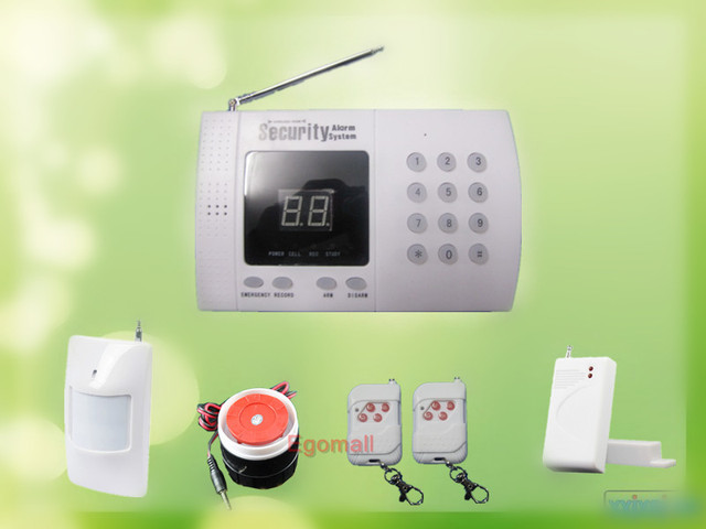New Wireless PIR Home Security Burglar Alarm System Auto Dialing Dialer Easy DIY S228