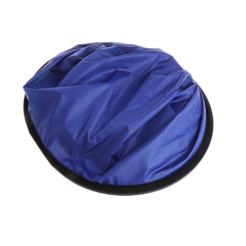 100*150 cm refletor portátil dobrável oval azul