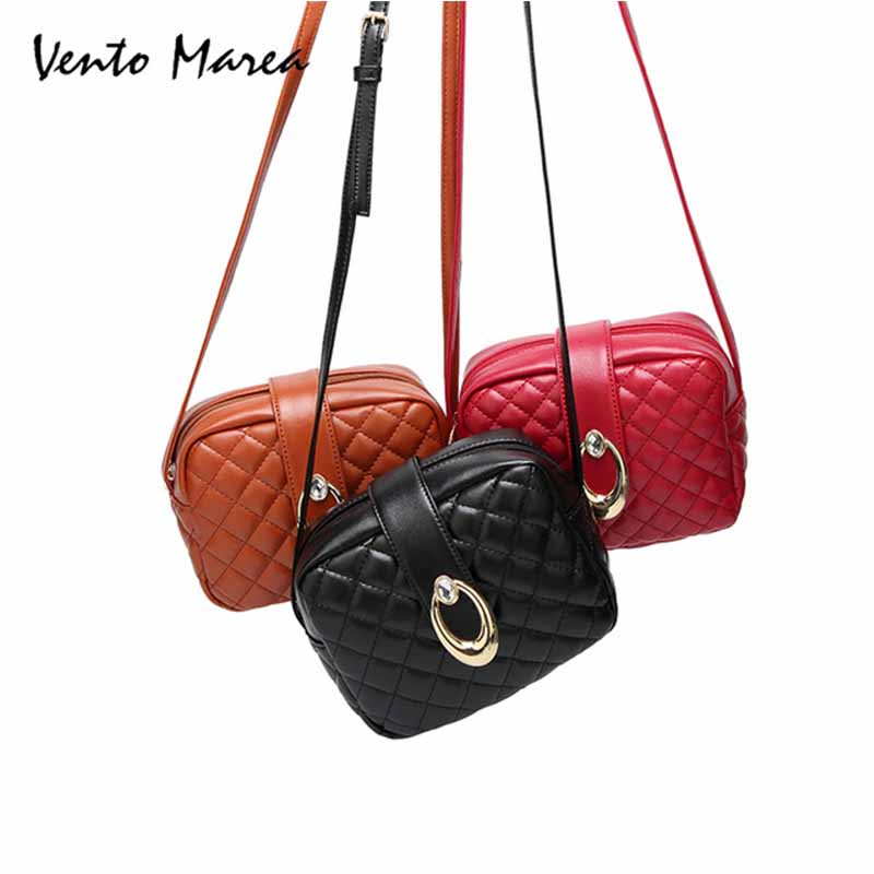 1b0b230bc6d Vento Marea Ladies Small Side Of Mini Messenger Bag Bolsos Mujer Women  Plaid Bags Handbag Shoulder Bags Bolsa Feminina