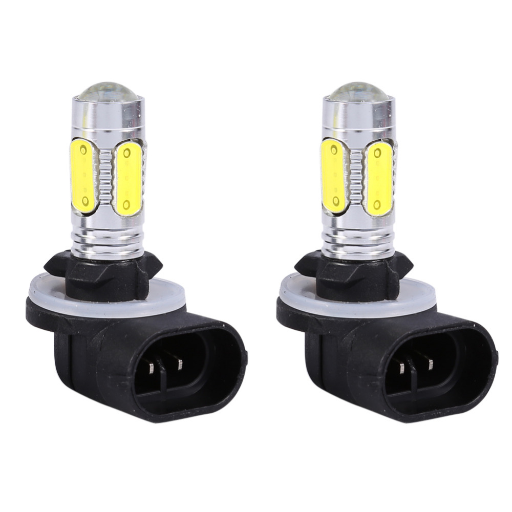 Car Truck 5 COB LED 7.5W 6500K HID White Fog Lights DRL Bulbs H27W/2 881 12V DRL Daytime Running Car Lamp Auto Light
