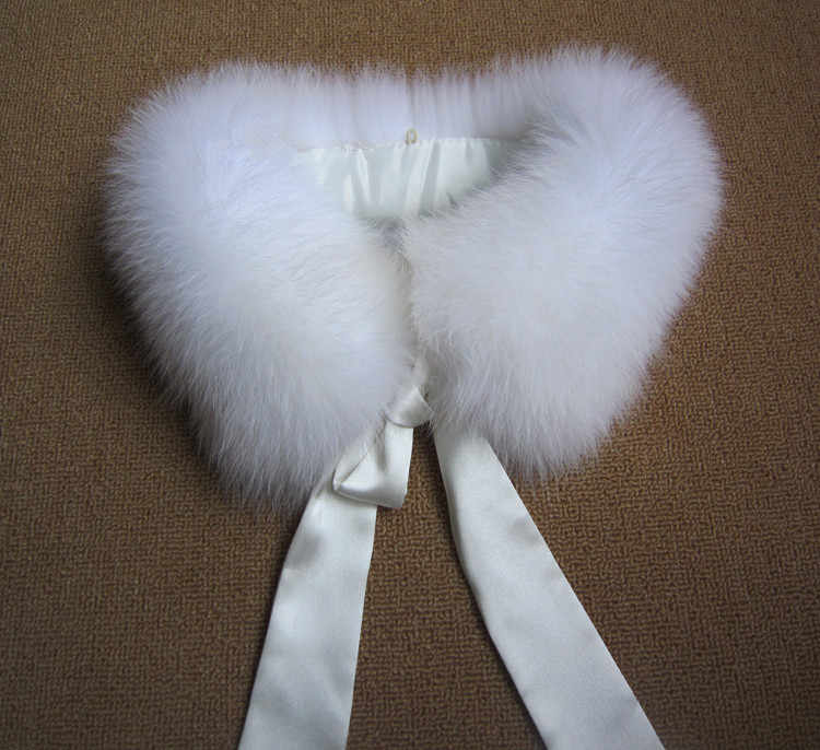 Отличный искусственный воротник с бантом женский осенний зимний теплый шарф черный белый розовый квадратный воротник из лисьего меха S802