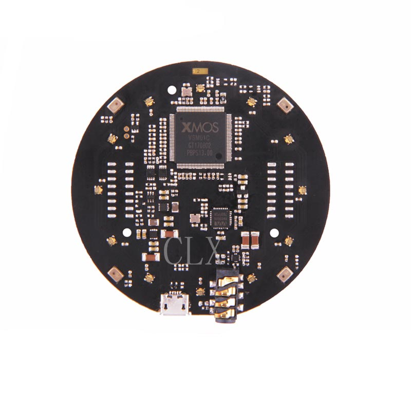 Respeaker Mic Array V2.0 Far-field W/ 7 PDM Microphones,Voice Expander,Intelligent Voice Development Board,DIY Maker