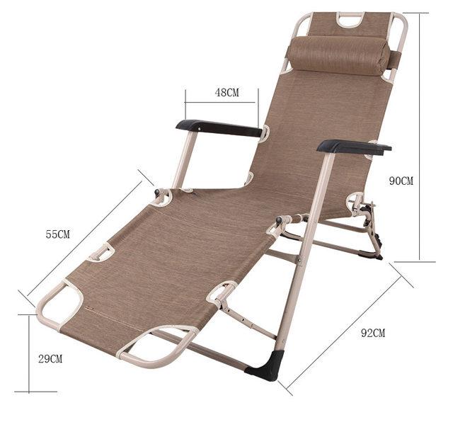 Outdoor Seat Backs Leisure Multifunctional Folding Portable Beach Chair  Folding Zero Gravity Chair Picnic Camping Sunbath Chair