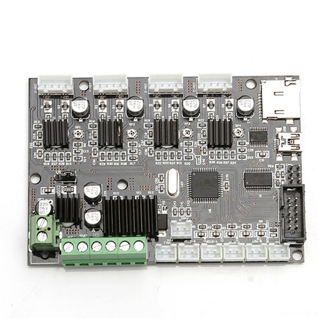 Special Offers Good Quality Creality 3D CR-10 12V 3D Printer Mainboard Control Panel With USB Port & Power Original Factory Supply