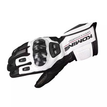 New GK198 Motorcycle Gloves touch-screen glove leather carbon fiber riding car racing off-road anti-fall rekawice motocyklowe motorcycle off road racing rider anti touch screen leather gloves