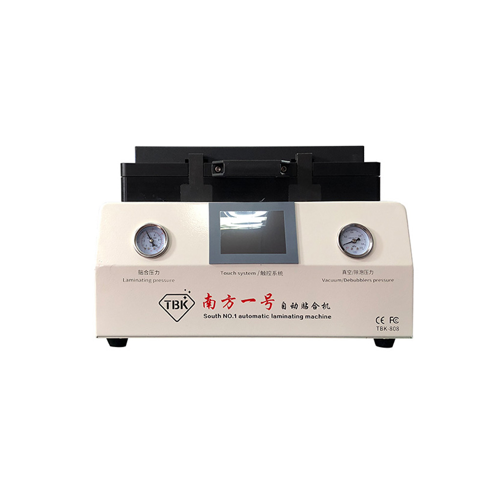 TBK-808 OCA Vacuum Laminating Machine Automatic Bubble Removing For LCD Touch Screen Repair With lock Gas