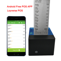 Free APP Android Bluetooth Thermal Printer 58mm Mini Bluetooth Thermal Receipt Printer Bluetooth Android iOS POS thermal printer