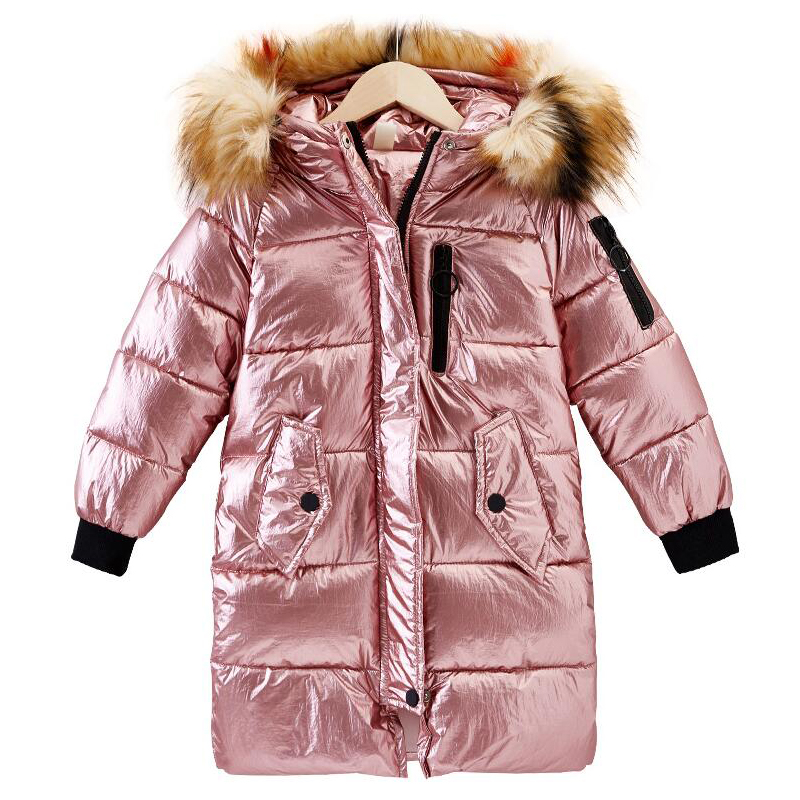 2019 New Girls Long Padded Jacket Children Winter Coat Kids Warm Outwear Thickening Hooded down Coats For Teenage Outwear -302019 New Girls Long Padded Jacket Children Winter Coat Kids Warm Outwear Thickening Hooded down Coats For Teenage Outwear -30