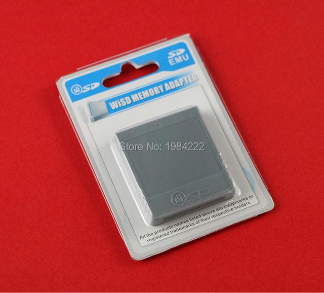SD ذاكرة فلاش WISD بطاقة عصا محول محول محول قارئ بطاقات ل وي NGC gamquibe لعبة وحدة التحكم