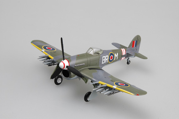 Diecasts & Toy Vehicles Diligent Trumpeter 1:72 British World War Ii Mk.1b Typhoon Fighter Model 36313 Favorite Model Attractive And Durable