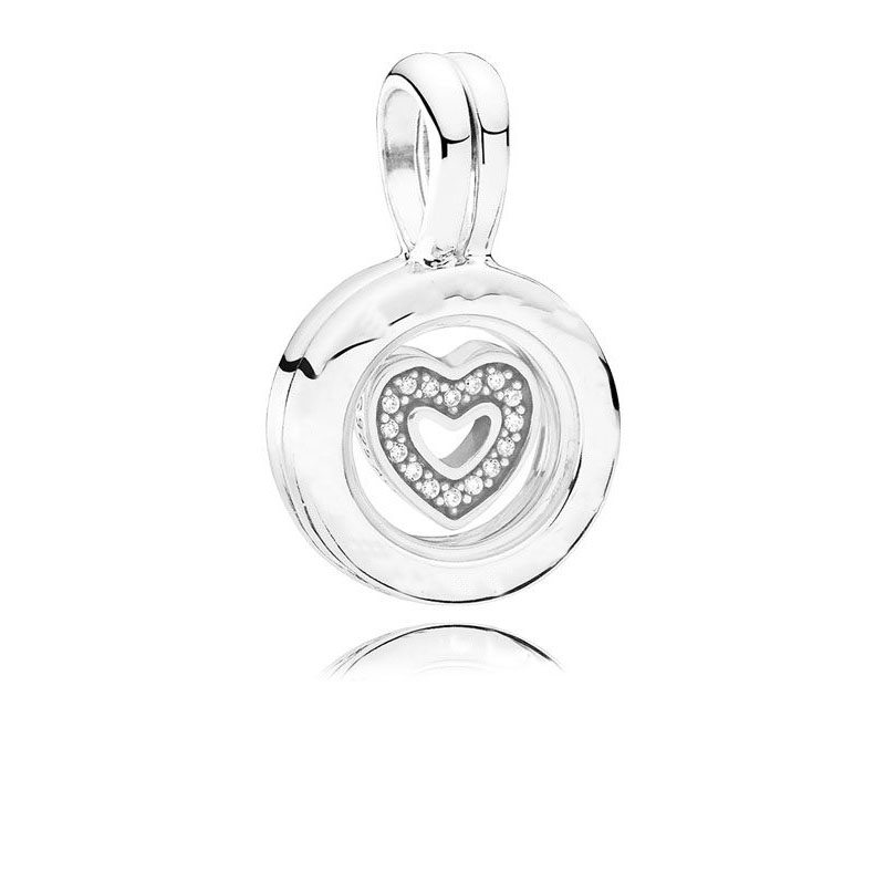 2018 New Authentic 925 sterling silver Floating Heart Locket Charm Fit Original pandora bracelet necklace pendant DIY jewelry2018 New Authentic 925 sterling silver Floating Heart Locket Charm Fit Original pandora bracelet necklace pendant DIY jewelry