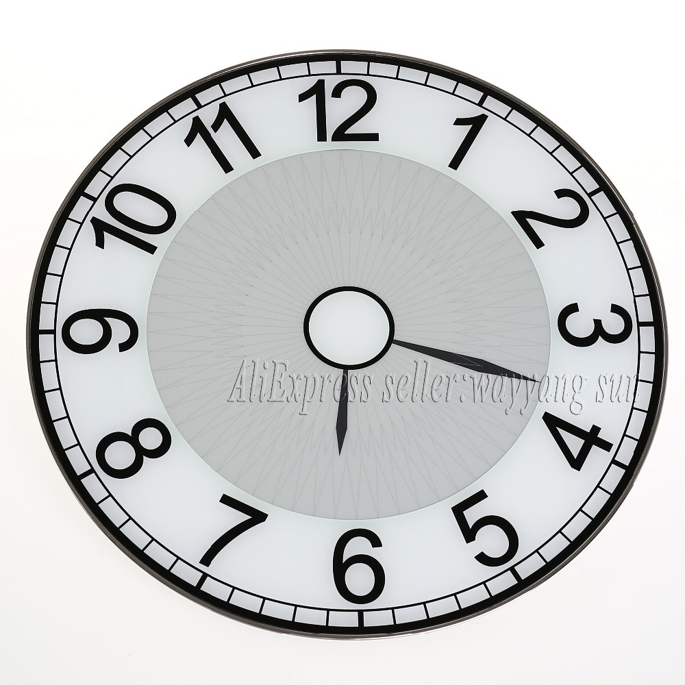 Small Crop Of Tech Wall Clock