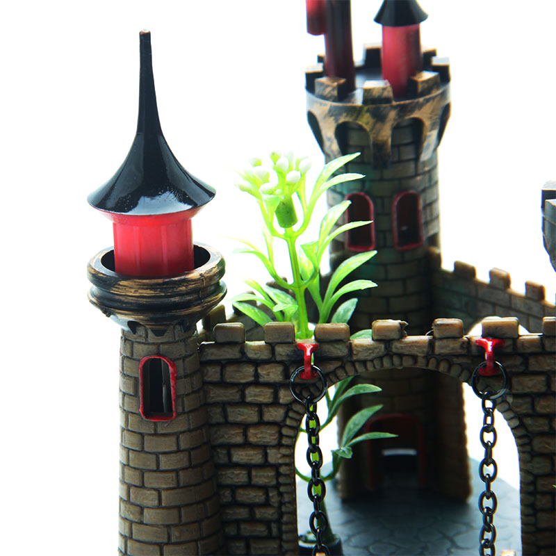 aliexpress : buy mini cartoon simulation resin plant castle