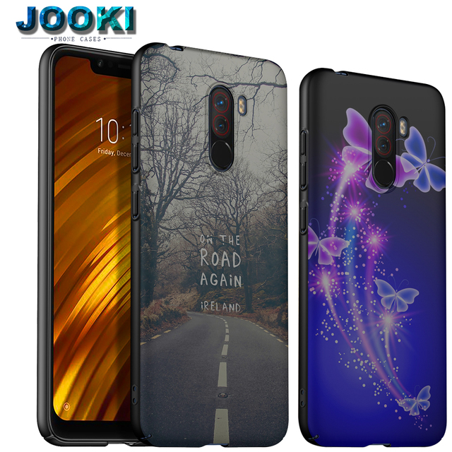 pretty nice 5a530 16233 US $8.98 |For Xiaomi POCOPHONE F1 Hard Plastic PC Back Cover Case For  Xiaomi POCO F1 DIY Custom Print Case Coque-in Half-wrapped Case from  Cellphones ...