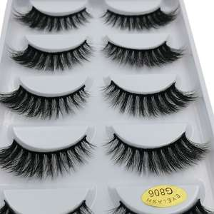 3D Eyelashes Makeup-Cilios-Mink Soft-Dramatic Hand-Made Natural Reusable for Maquiagem