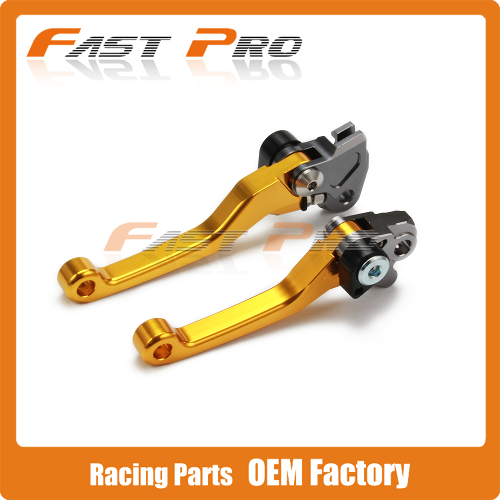 CNC Pivot Foldable Clutch Brake Lever For RMZ250 RMZ450 RMZ 250 450  Motocross Enduro Supermoto Dirt Bike OFF Road cnc pivot brake clutch levers for honda crf250r crf450r 07 15 crf motocross enduro supermoto dirt bike racing offroad motorcycle