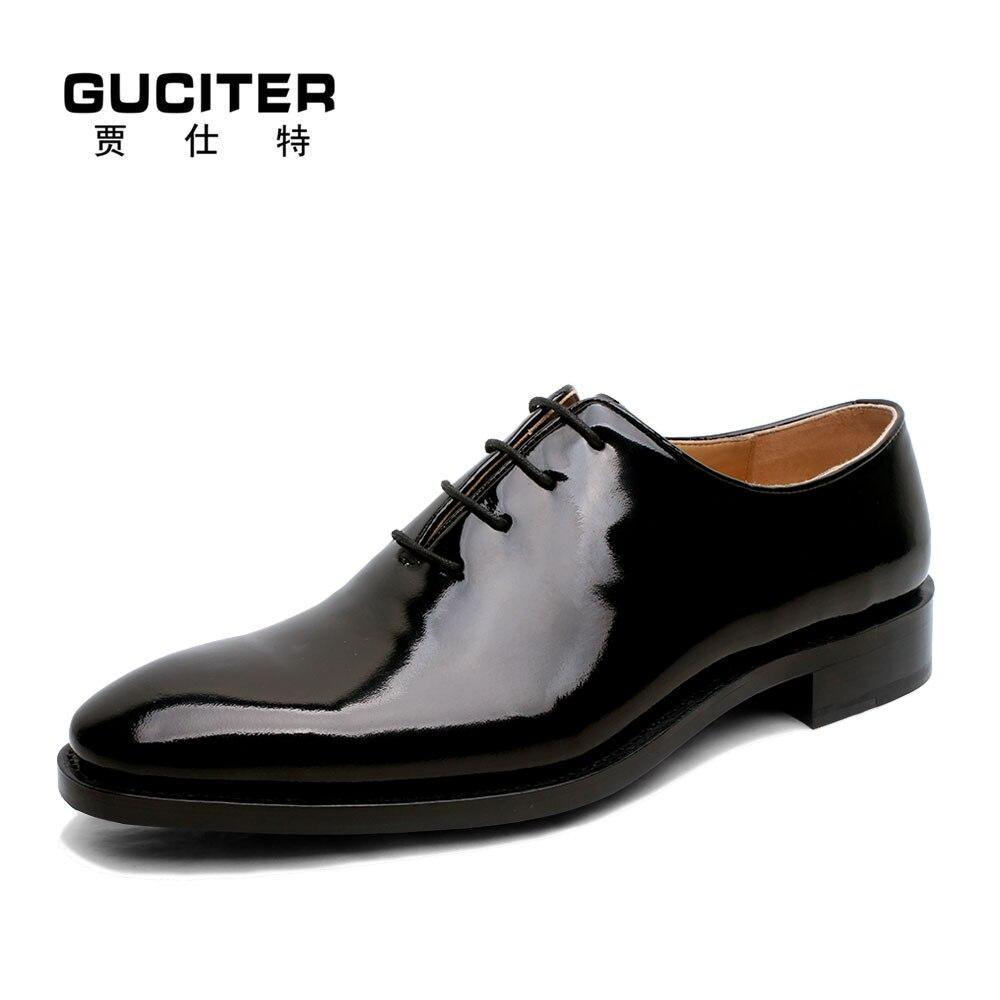 Goodyear kulit sepatu handmade kustom bespoke pria dress sepatu bisnis pria  kulit italia merek baru anak sapi kulit outsole di Sepatu Formal dari Sepatu  ... e4c94eb631