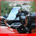 Universal Motorcycle Electric Bike Handlebar Aluminum Cell Phone Mount Holder for Smart Phones