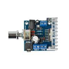 AIYIMA TDA7297 2.0 podwójny kanał samochodu płyta wzmacniacza płyta wzmacniacza audio DC 12V dla 4 8ohm głośnik audio 15W + 15W