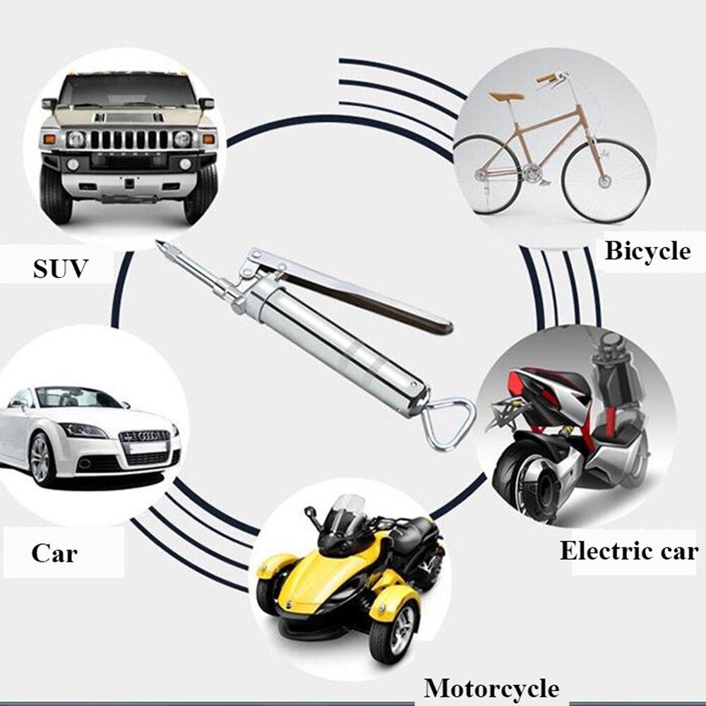 Image 5 - Автомобильный комплект для ремонта шин аварийный вакуумный шиномонтажный инструмент для быстрого ремонта внутренней резиновой ленты склеивание багажника Мотоцикл Портативный велосипед шинный инструмент