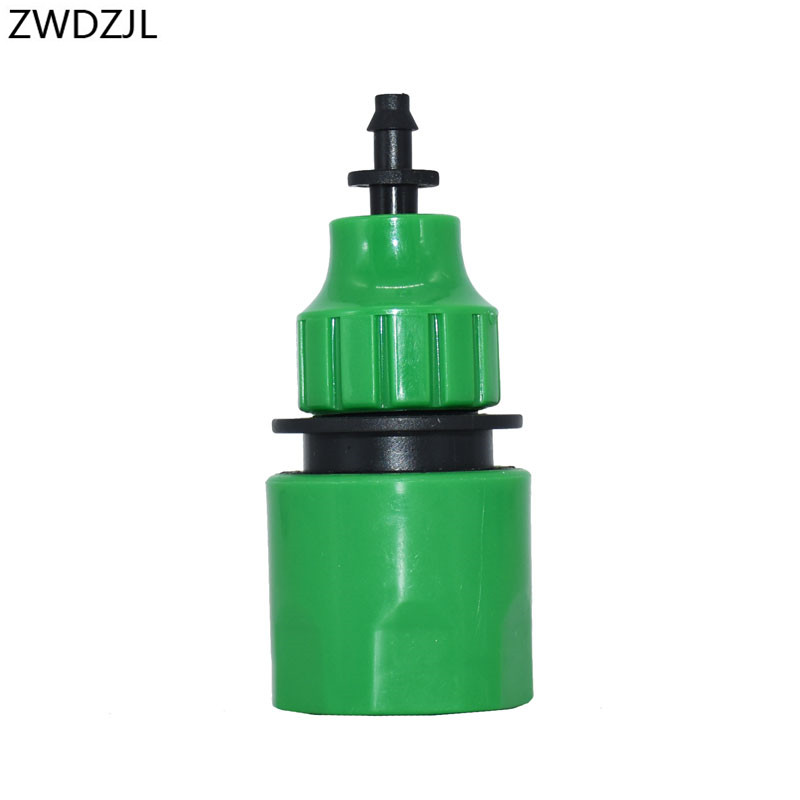 Garden Water Quick Coupling 1/4 Inch Hose Quick Connectors Garden Pipe Connectors Homebrew Watering Tubing Fitting 1PCS