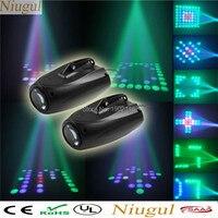 2pcs/lot 10W RGBW LED Beam/LED Moonflower Effect lighting /Disco dj KTV Club Party Show Lights/Christmas lamp/LED patterns light