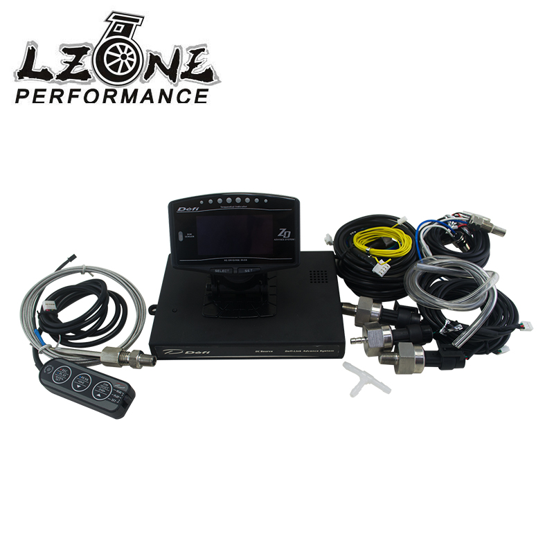 LZONE - DF Style Advance ZD 10 in 1 DF link Auto Sports Package OLED Digital tachometer Full Kit BF CR C2 Meter Auto Gauge QT85