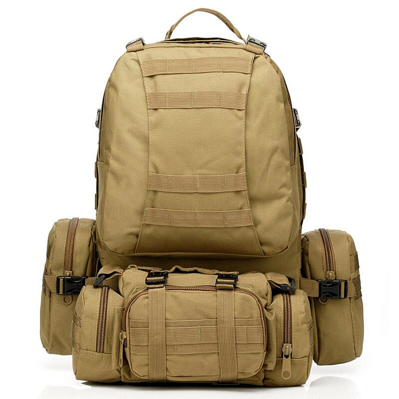 50L Large Capacity Backpack Camouflage Military Backpack School Bags For Teenagers Boys Laptop Travel Bag olidik laptop backpack for men 14 15 6 inch notebook school bags for teenagers large capacity 30l women business travel backpack