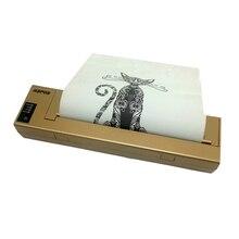 Прямая с фабрики Usb A4 принтер мобильное Офисное оборудование тестер тату печать оборудование самообслуживания