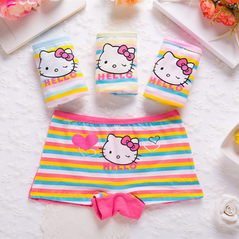 Underwear For Girls Underpants Panties Boxers Short Panties For Girls Calcinha Infantile Child's Kids Children H6038-4P