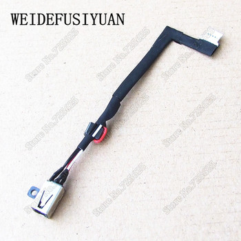 50PCS/LOT DC Power Jack Socket with cable Harness for DELL Vostro 14 5459 14-5459R 14-5459 Charging Port Connector