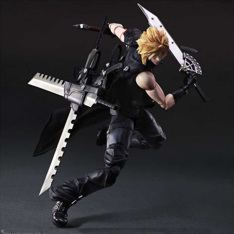 Final Fantasy Cloud Strife Action Figures PVC For Collection AD087