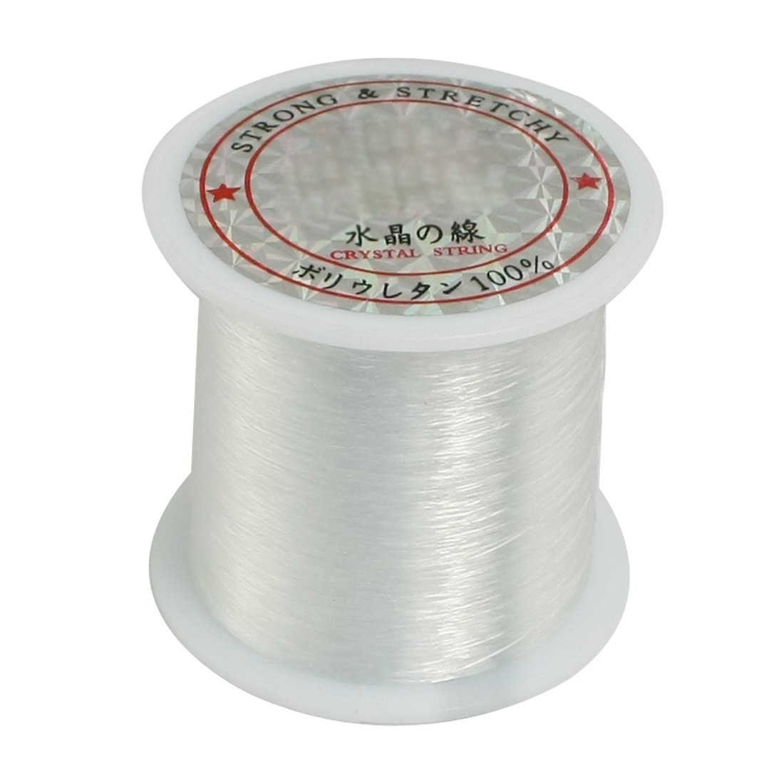 0.2mm Diameter Clear Nylon Fish Fishing Line Spool Beading String