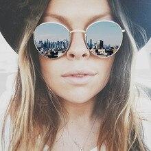 Vintage Brand Design Круглые Солнечные Очки Женщин Бренд Дизайнер 2016 Ретро Зеркало Солнцезащитные Очки Для Женщин Леди Авиатор Солнцезащитных Очков Женщин